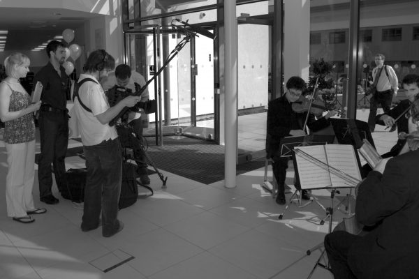 Filming P Z Cussons corporate videos
