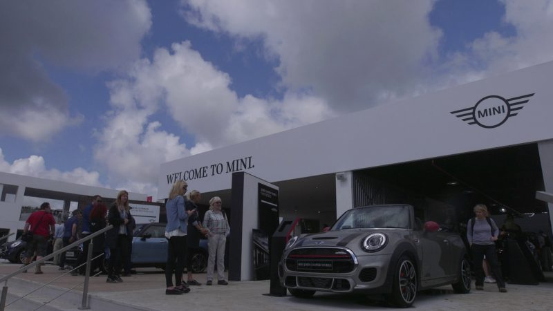 Shooting MINI corporate videos at The Goodwood Festival of Speed