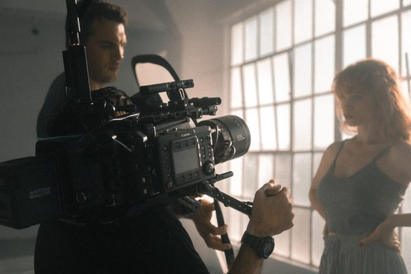 Filming a dancer with a Canon C500