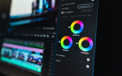 What is colour grading?