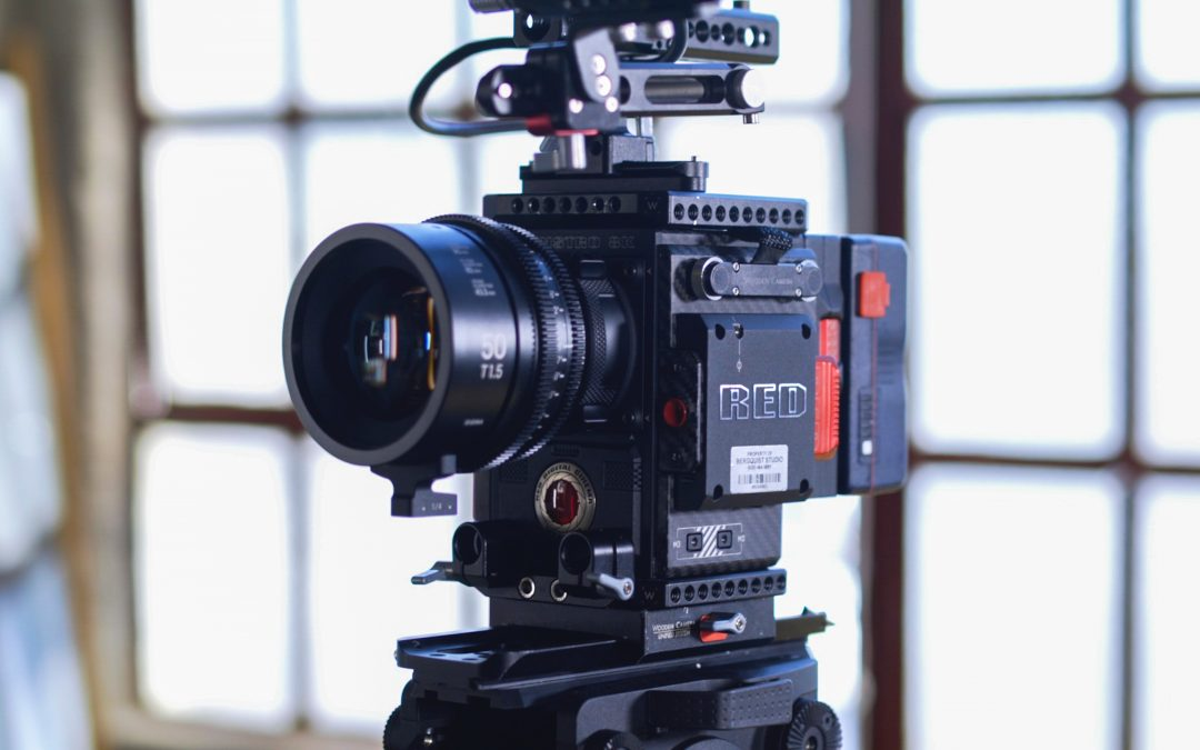 A Red camera as used for TV drama and commercials