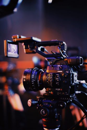 Canon C300 in use